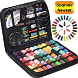 STURME Sewing KIT Thread Spools Sewing Tool Kit with PU Case, Perfect for Home Travel and Emergency and Easy to Use for…