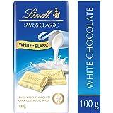 Lindt Swiss Classic White Chocolate Bar, 100g