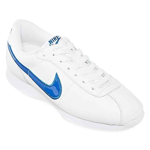 best website 5f1da dba1e Nike Stamina - Zapatillas de Senderismo de Encaje bajo para Mujer, Blanco  (BlancoAzul), 2 M US Amazon.es Zapatos y complementos