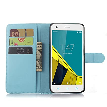 Ycloud Funda Libro para Vodafone Smart Ultra 6, Suave PU Leather Cuero con Flip Cover