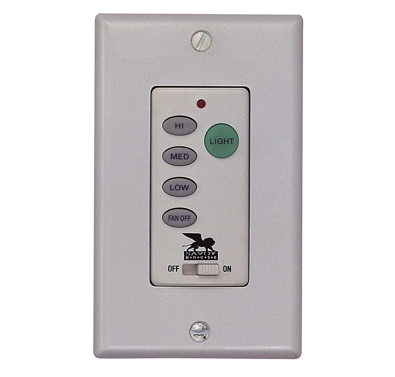Savoy House WLC300 Wall Mount Fan Light Control Lighting