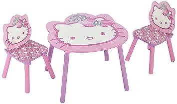 Delta TT 89449 - Conjunto de mesa y 2 sillas (60 x 60 cm)
