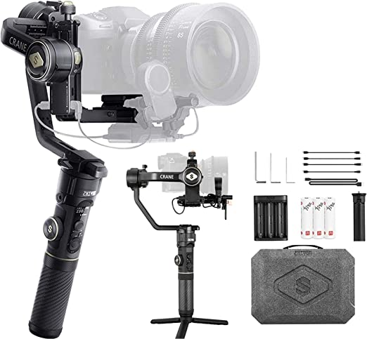 Zhiyun Crane 2s 3 Achsen Gimbal Stabilisator Kompatibel Kamera