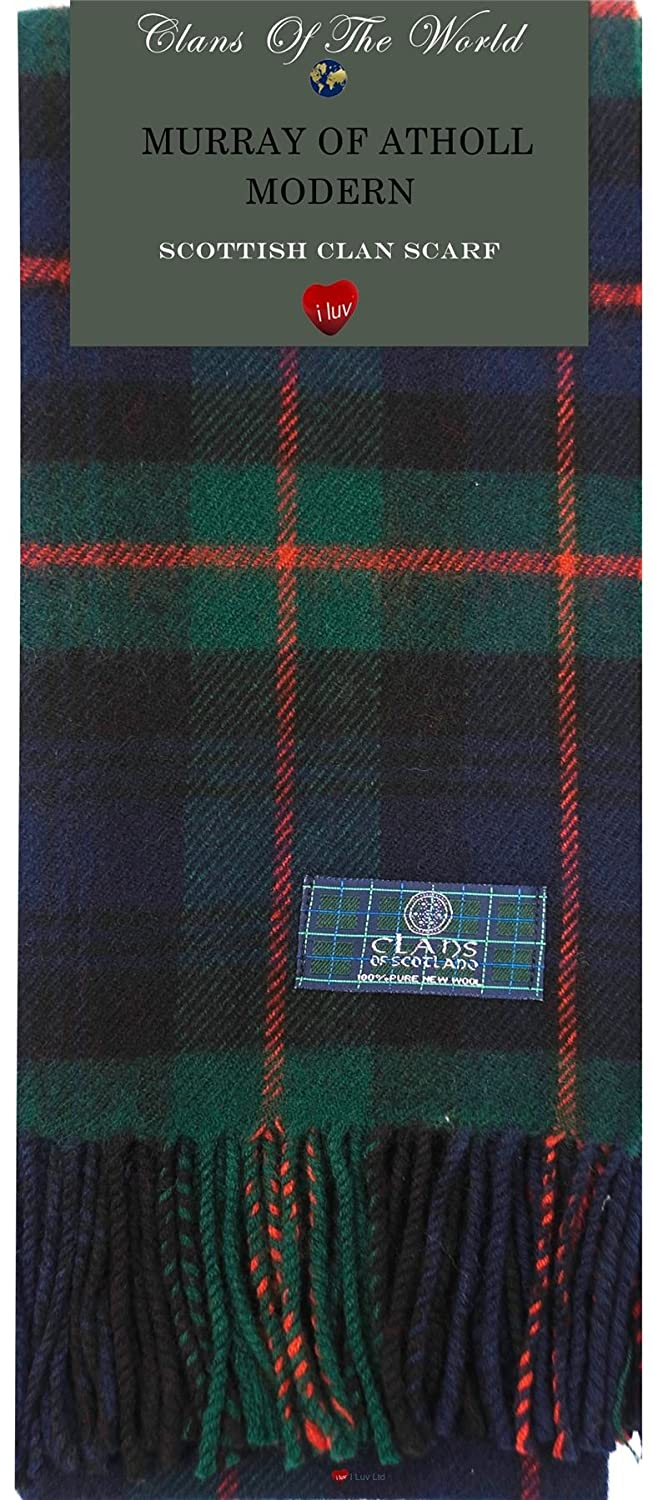 14591a3cfefe Jungen I Luv LTD Boys Clan Tie All Wool Woven in Scotland Murray of Atholl  Ancient ...
