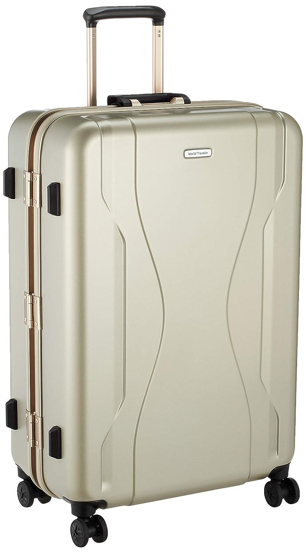 [ワールドトラベラー] スーツケース 日本製 コヴァーラム ベアリング入り双輪キャスター 84L 69 cm 5.6kg B07S226CB4 ゴールド