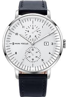 631ed0db7b5ae5 腕時計 メンズ ビジネスカジュアル 革 日付 ファッションウォッチ おしゃれ シンプル 防水 仕事用時計 アナログ クォーツ