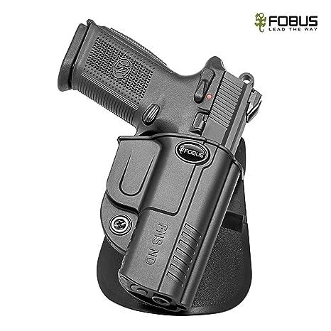 Amazon com : Fobus Passive Retention Holster FNS9 & FNS40