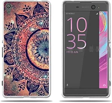 fubaoda Sony Xperia XA Ultra Funda TPU de Gel de Silicona, Lujoso Dibujo de un Mandala,Resiste a los Arañazos,Carcasa Protectora de Goma Sony Xperia XA Ultra: Amazon.es: Electrónica