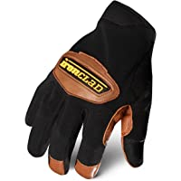 Ironclad RWC2-D-02-S Cowboy 2 Work Gloves, Small, Dark Brown