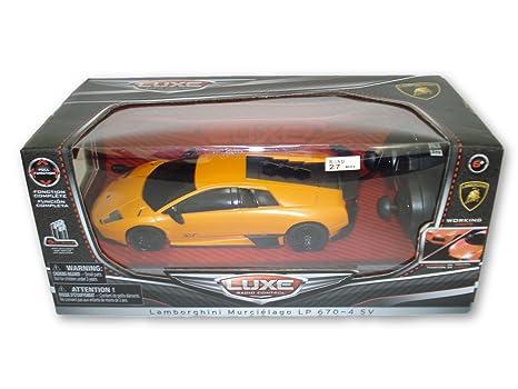 Luxe Radio Control Orange Lamborghini Murcielago LP 670 4 SV, 7u0026quot; Full  Fuction