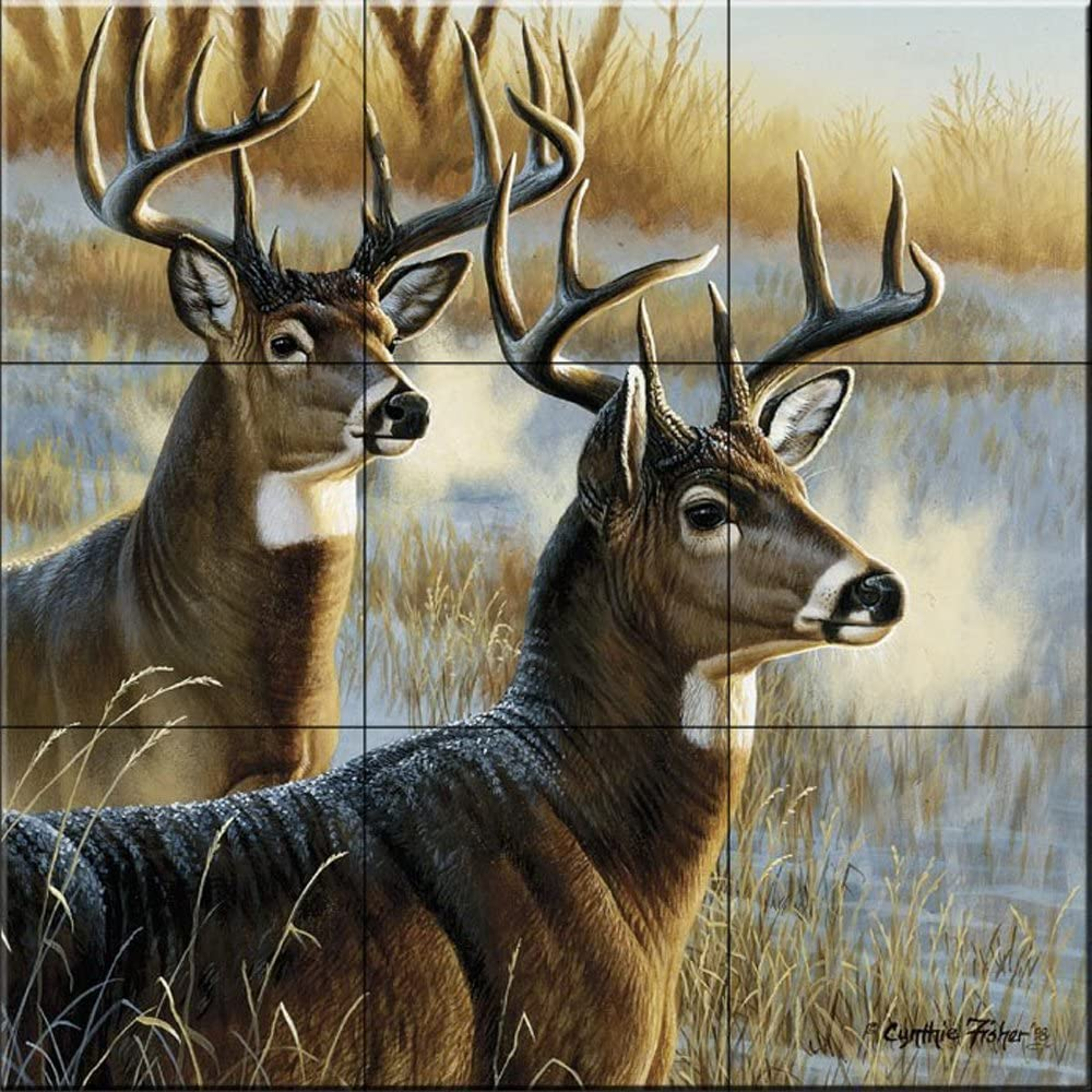 NEW Ceramic Tile Mural - On Cynthie Complete Free Shipping Alert- Fisher by The