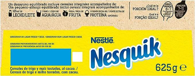 Cereales Nestlé Nesquik - 14 paquetes de 625 g