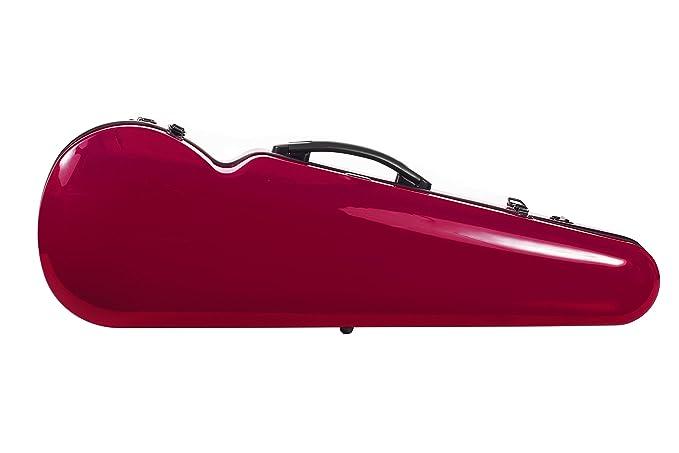 Estuche para violín de fibra de vidrio Vision 4/4 Rojo M-Case