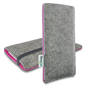 efe0512b2cb Stilbag Finn - Funda calcetín para móvil Apple iPhone 6 Plus, color gris y  rosa: Amazon.es: Electrónica