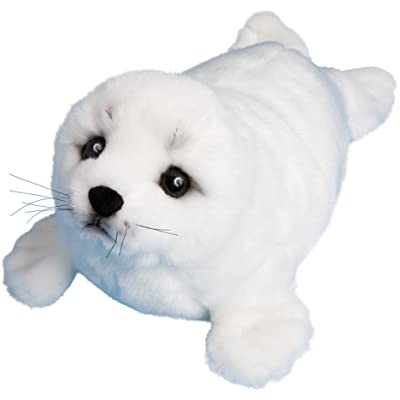 "Douglas Cuddle Toys Plush Twinkle Harp Seal 15"": Toys & Games"