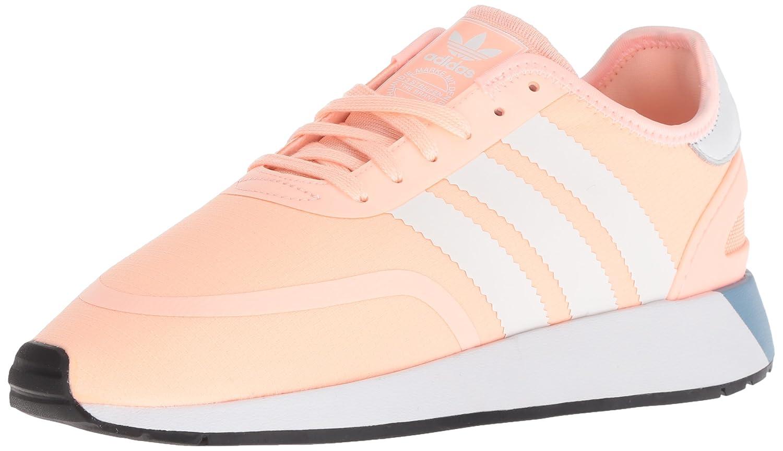 adidas Originals Women's N-5923 W Sneaker B077X8S7XC 6 B(M) US|Clear Orange/White/Black