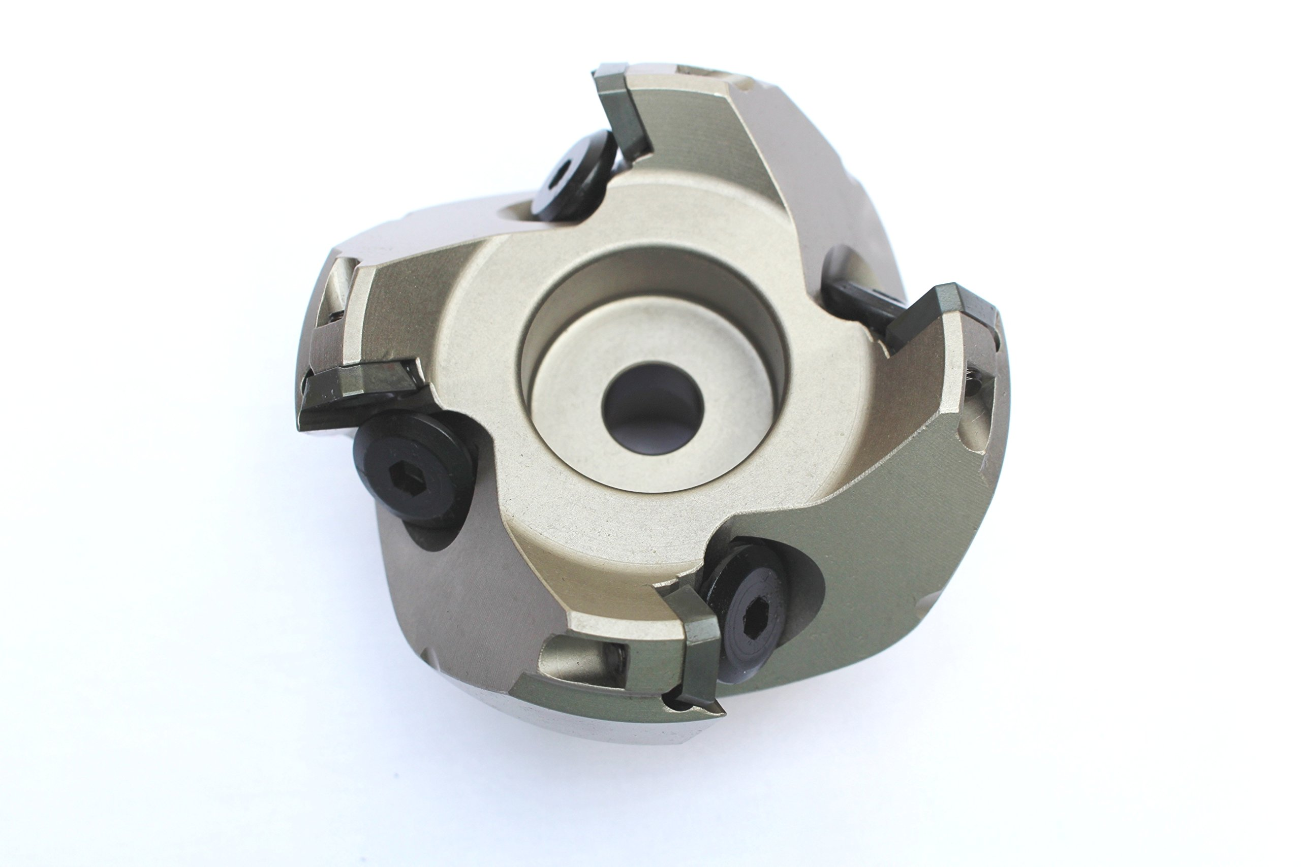 HHIP 2067-2500 2-1/2'' x 3/4'' Bore 45 Degree SE42 Index able Face Mill, 4 Teeth, 1.89'' OAL