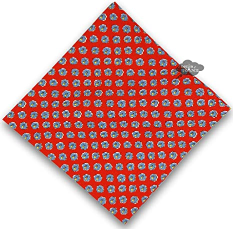 Amazon Com Olives Red Provence Cotton Napkin By Le Cluny Home Kitchen