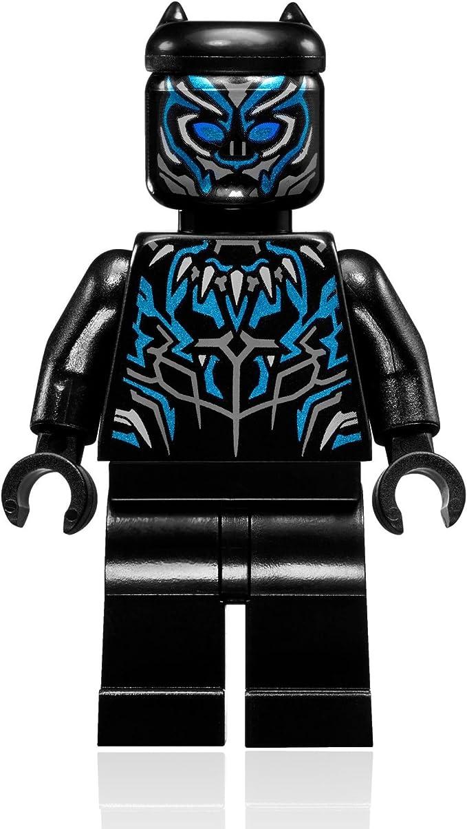 Amazon.com: LEGO Marvel Super Heroes Black Panther - Traje ...