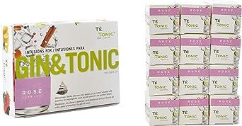 Te Tonic Experience amante de Gin Pack 24 infusiones - 1 sabor de ...