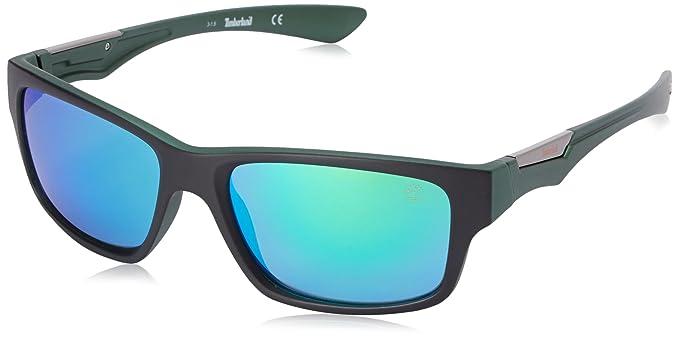 Timberland TB9078 - Gafas de sol polarizadas para hombre, Verde (Verde), 57