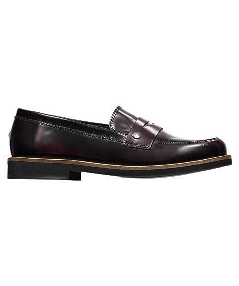Tommy Hilfiger Daisy 10a - Mocasines para mujer, color Rojo, talla 41: Amazon.es: Zapatos y complementos