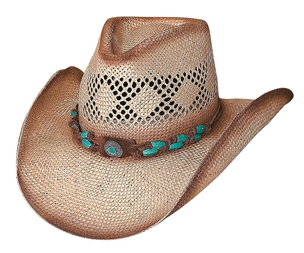 1bc96104e8cd8 Terri Clark Montecarlo Bullhide YOU ARE EASY ON THE EYES Straw Western  Cowboy at Amazon Women s Clothing store