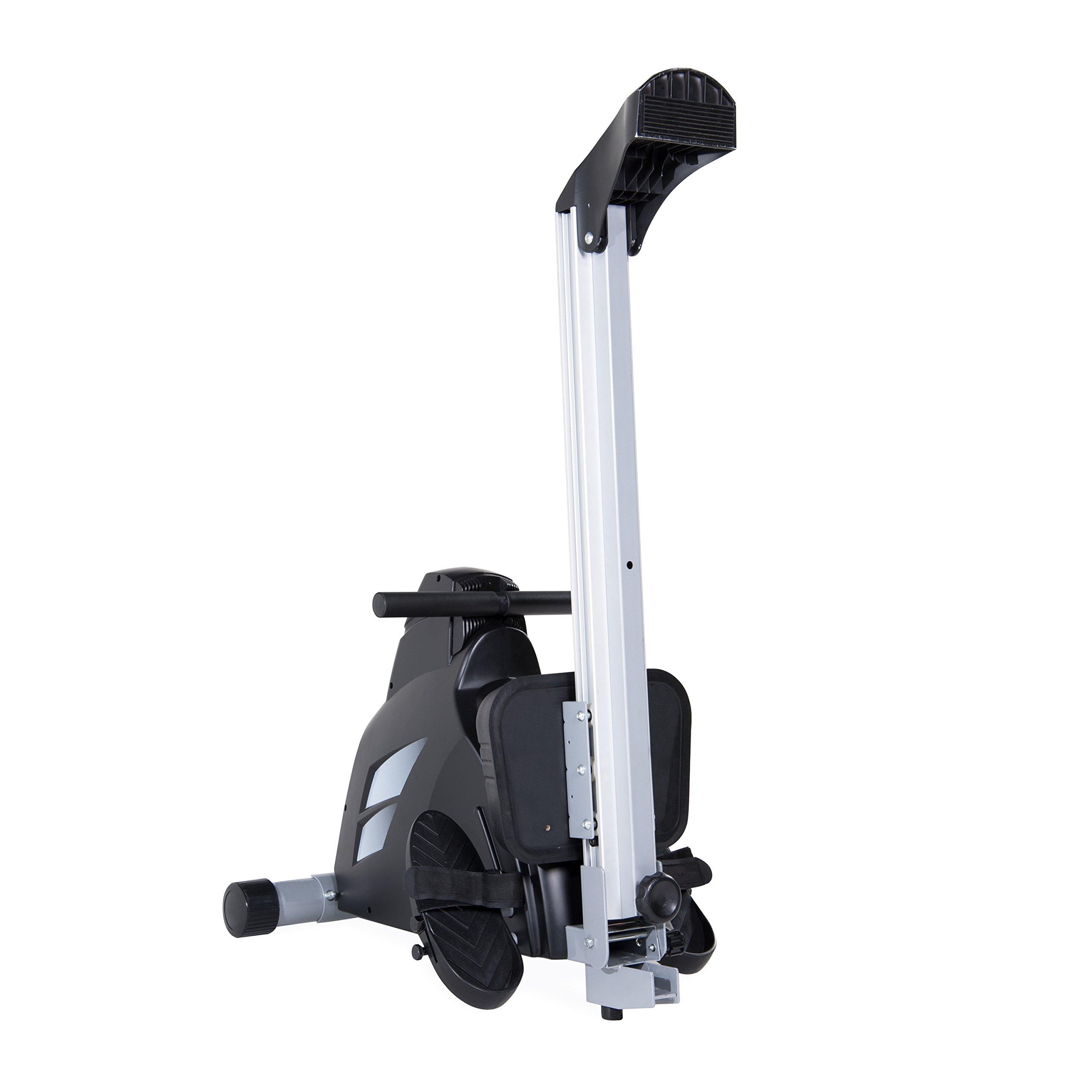Velocity Exercise Magnetic Rower, Black by velocityexercise (Image #3)