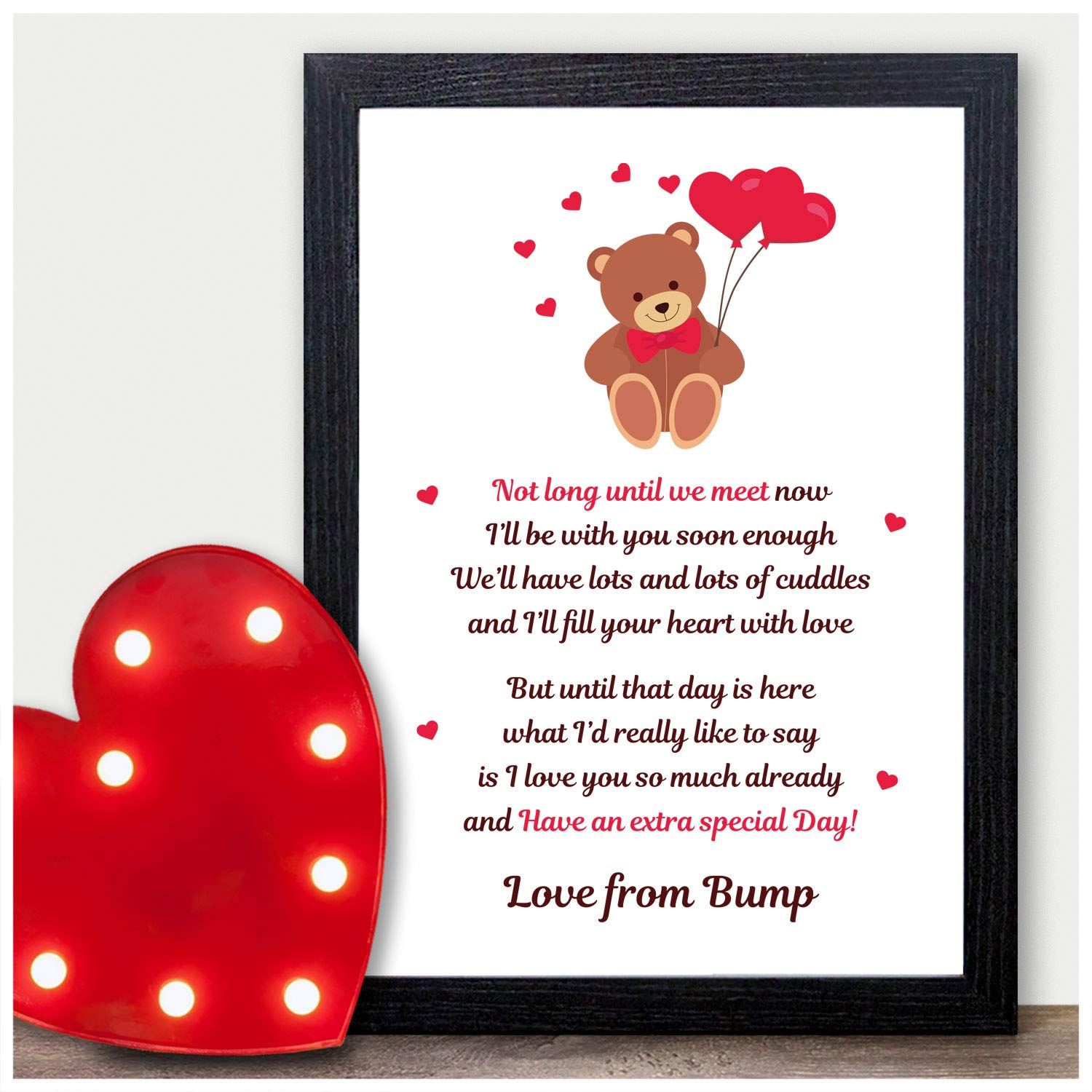 Personalised Christmas Gifts From Bump Mummy Daddy To Be Gifts