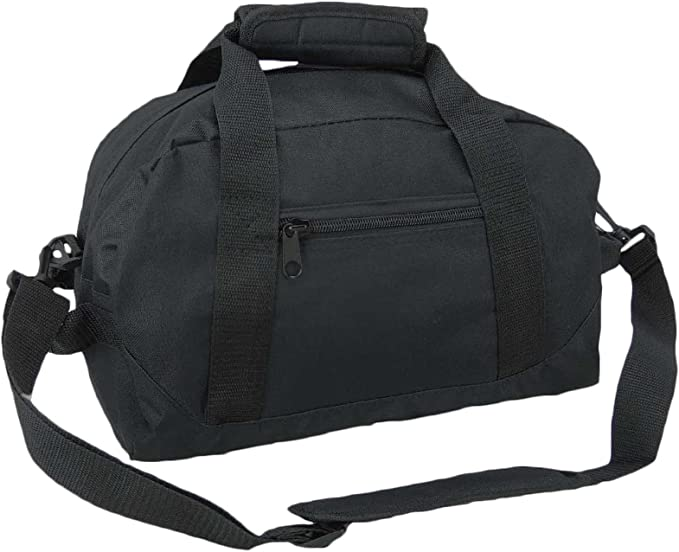 """Lot Of 24 Duffle Bag Bags Travel Size Sports Gym Blank 17/"""" Wholesale 5 Colors"""