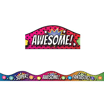 Ashley Productions Superhero & Scallop Magnetic Border: Toys & Games