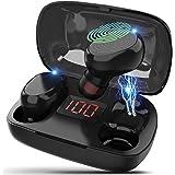 (2021 Nuevo modelo)Los nuevos audífonos bluetooth de Cheelom, audífonos para juegos de entretenimiento, IPX8 Impermeable y Re