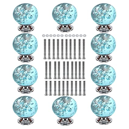 Honest 1 Pc 2018 30mm Diamond Clear Crystal Glass Door Pull Drawer Cabinet Furniture Accessory Handle Knob Screw Worldwide Furniture