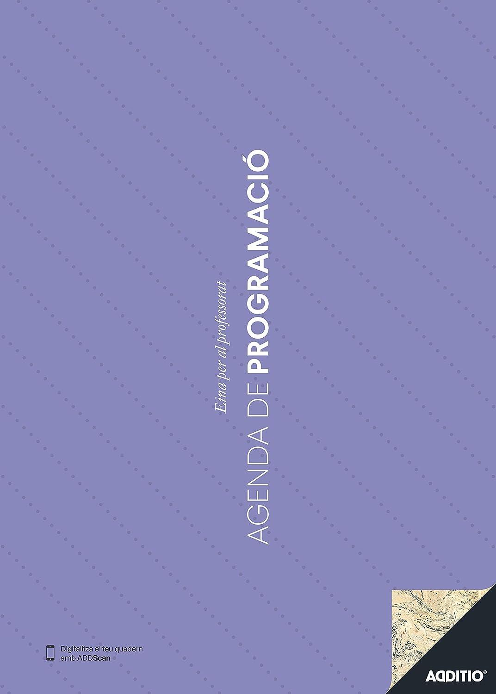 Additio P201 - Agenda de Programación (catalán), color azul
