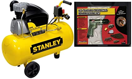 Compresor Aire Stanley D250/10/50 50 Lt lubrificado 2,5 HP 8