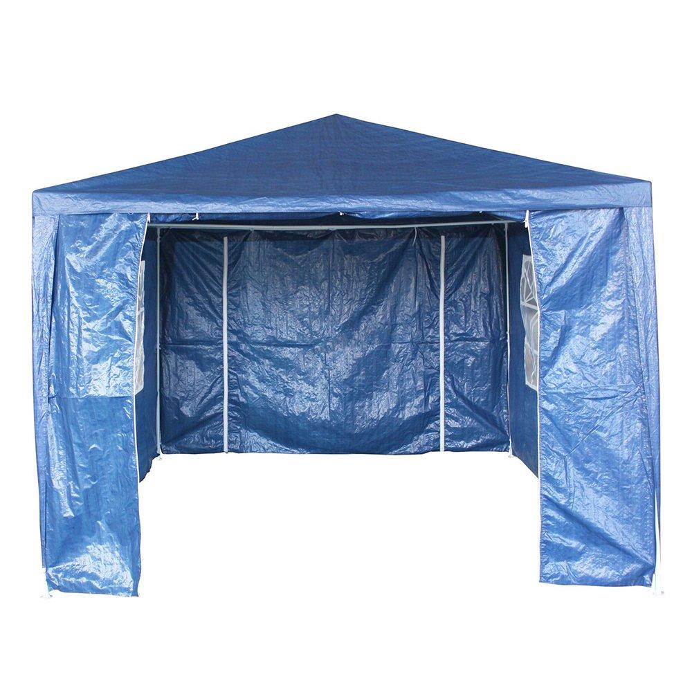 Keinode Keinde Impermeabile, per Esterni, da Giardino Gazebo 3 x 4 m PE Gazebo Party Tent Canopy Camping Club cappottina Parasole Ombra per Outdoor Wedding Garden Party