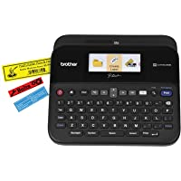 Brother PT-D600 PC-Connectable Label Maker with Color Display (Black)