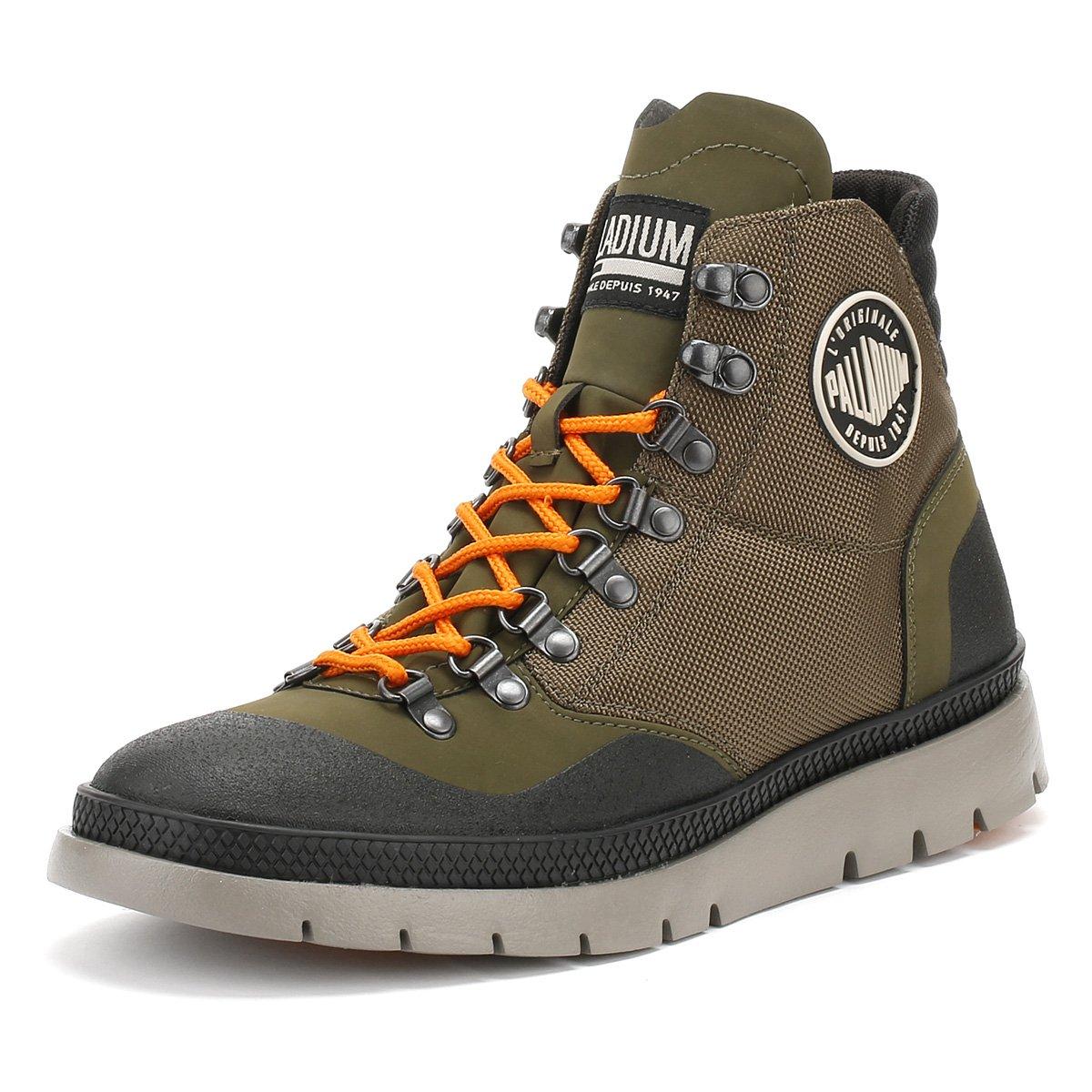 Palladium Hombre Pallasider Hiker Mid Boots, Multicolor: Amazon.es: Ropa y accesorios