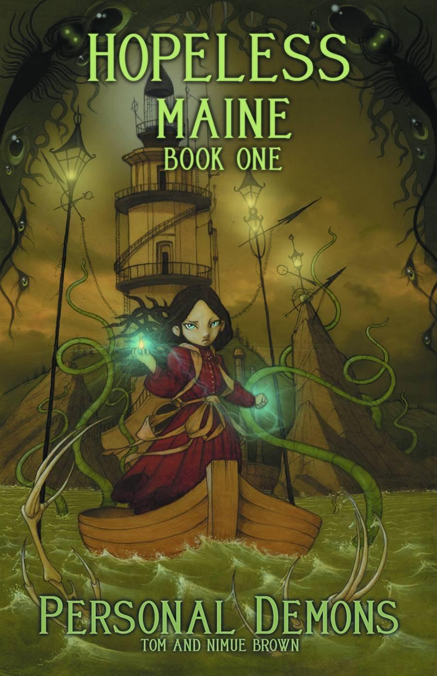 Hopeless, Maine Volume 1: Personal Demons: Tom Brown, Nimue Brown:  9781936393572: Amazon: Books