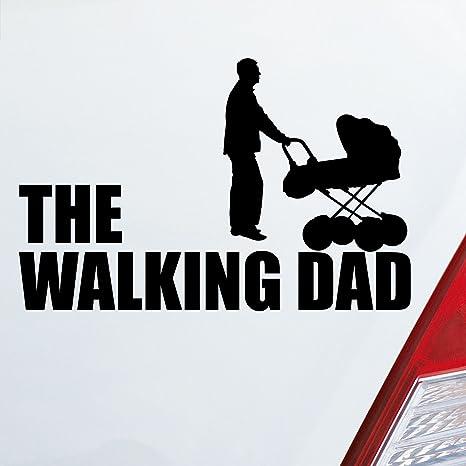 Auto en tu Wunsch Color The Walking Dad Zombie Pegatinas Daddy Dead Rick Glenn 15 x