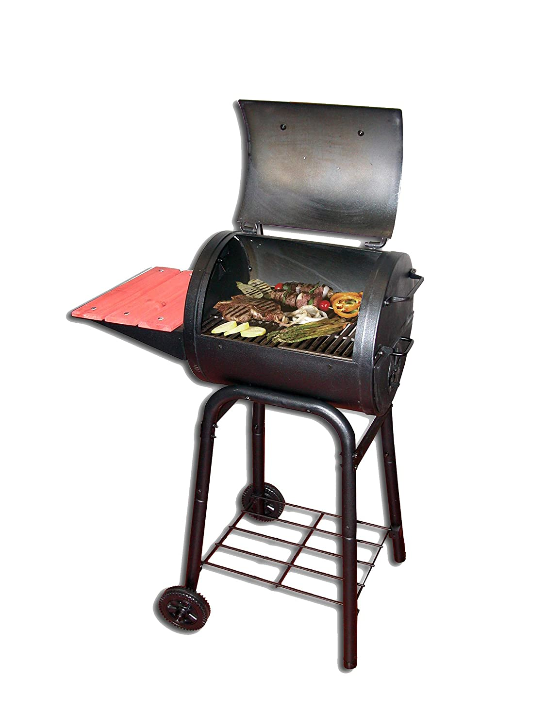 CHARGRILLER M110356 - Barbacoa de carbon patio pro 1515 numero 1 en usa: Amazon.es: Jardín
