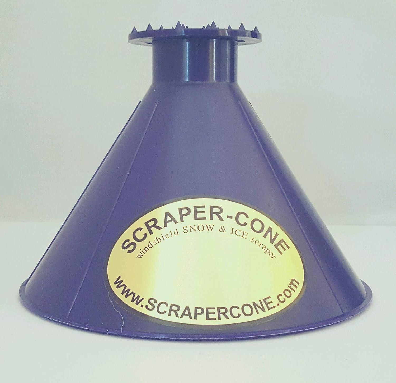 Scrape A Round Ice Scraper, Car Windshield Snow Scraper, Cone Shaped Ice Scrapers Scrape-A-Round