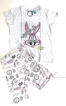 36495875a Primark Ladies Girls Women s Looney Tunes Pajama Pyjamas PJ Set UK S ...