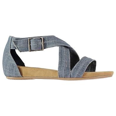 ec1d9e1dbb2 Kangol Womens Adele Sandals Blue UK 5 (38): Amazon.co.uk: Shoes & Bags
