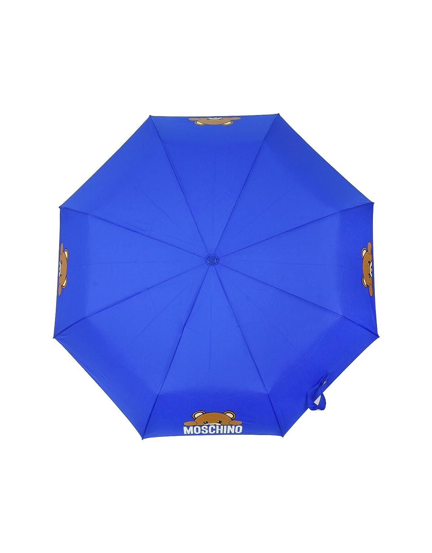 Moschino Mujer 8194Hiddenblue Azul Poliéster Paraguas: Amazon.es: Ropa y accesorios