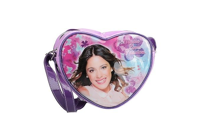 Bolsa niño de hombro mini DISNEY VIOLETTA violeta VN2481: Amazon.es: Ropa y accesorios