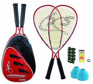Speedminton Set S100 Plus - Juego de raquetas de pádel ...