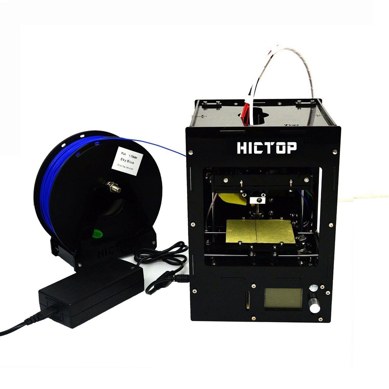 HICTOP Mini impresora 3d de escritorio Prusa i3 Fácil ...