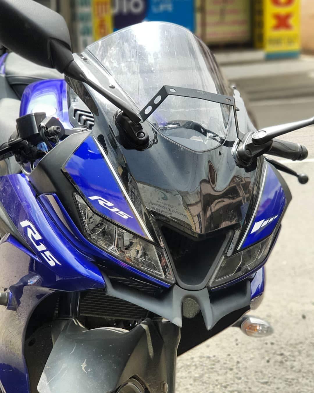 Saiga Parts FRP Bike Winglet for Yamaha R15 V3 (T-1, Blue)