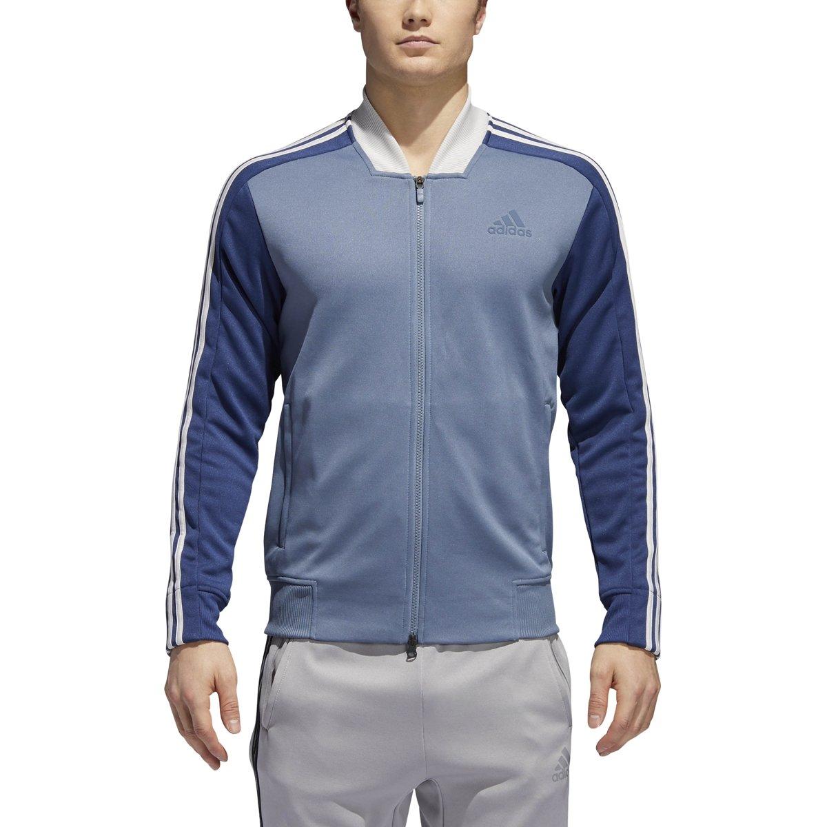 adidas Sport ID Track Bomber Jacket L Raw Steel by adidas